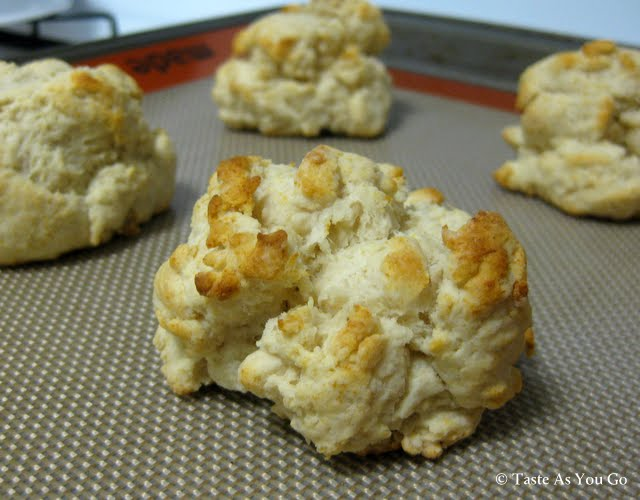 Simple Olive Oil Drop Biscuits
