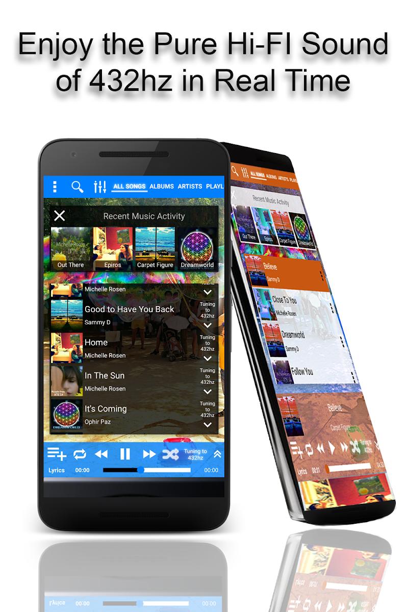 432 Player - Listen to Pure Music Like a Pro Screenshot 0