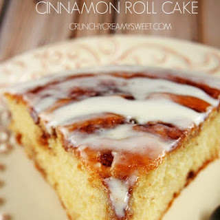 Better Cinnamon Roll Cake