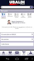 Screenshot of Ubaldi.com