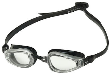 Michael Phelps K180 Goggles - Silver/Black with Clear Lens alternate image 2