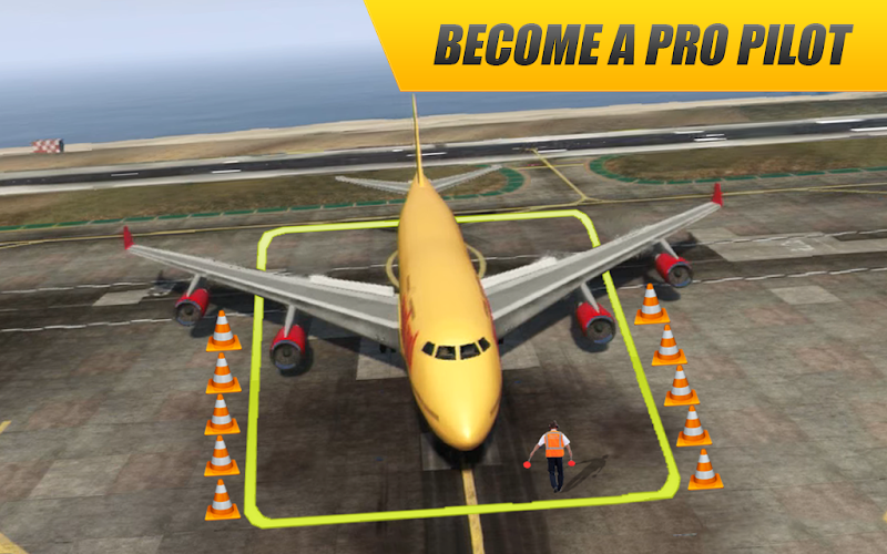 Download Real Plane Flight : Flying Pilot Simulator 3D 2018 APK