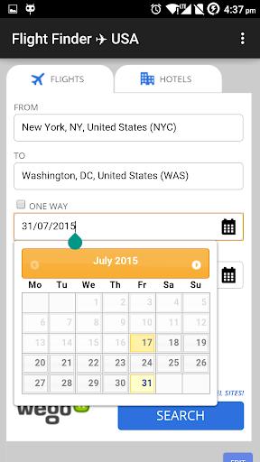Fly Smart - Flight Finder  screenshots 2