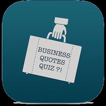 Business Quotes Quiz