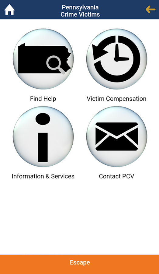 PA Crime Victims- screenshot