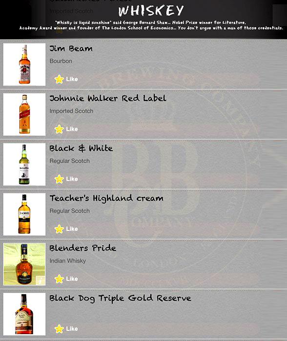 British Brewing Company menu 10