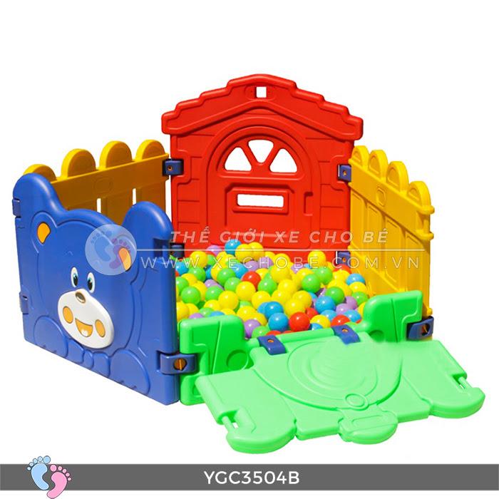 Nhà banh mini cho bé YGC-3504B 9