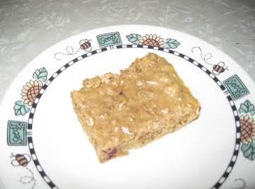honey cranberry pb protein bars