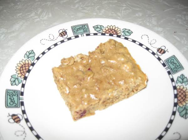 Honey Cranberry Pb Protein Bars Recipe