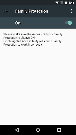 McAfee Family Protection screenshot 3