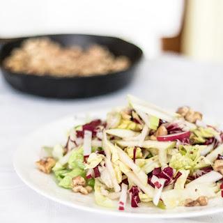 Apple and Radicchio Salad with Walnut Vinaigrette