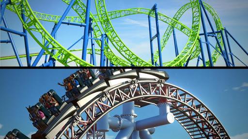 Roller Coaster 3D  screenshots 4