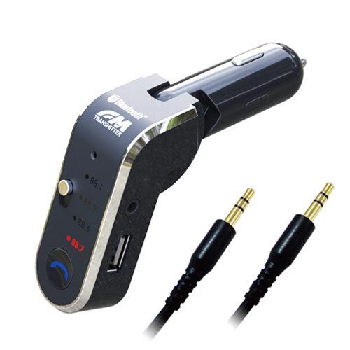 BỘ KẾT NỐI ÂM THANH FM XE HƠI USB 2.4A KASHIMURA KD-165