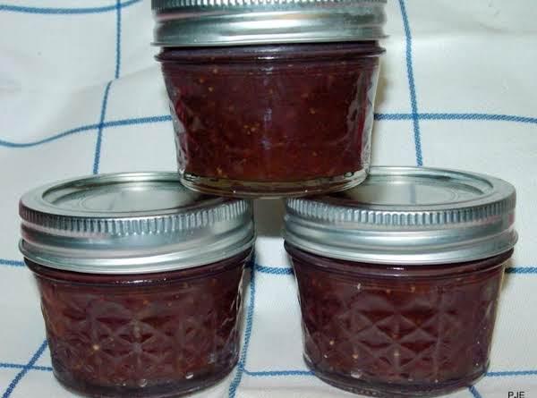 Pam's Strawberry- Peach Jam