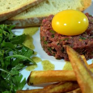Bistro Steak Tartare at Home.