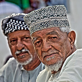 The Old Arabic by Andi Halil - People Portraits of Men