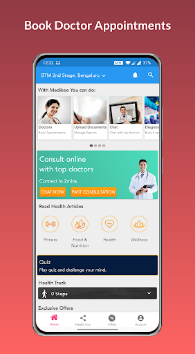 Medikoe- Book Doctor Appointments & Healthcare App ss1
