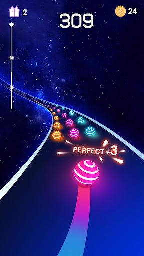 Dancing Road: Color Ball Run!  captures d'u00e9cran 1