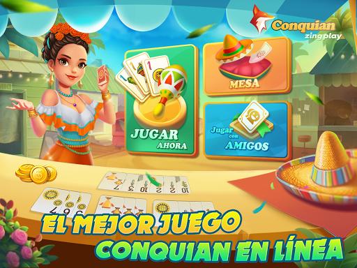 Conquian Zingplay: el mejor juego de cartas gratis filehippodl screenshot 6
