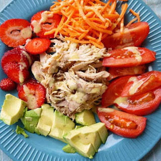 Paleo Pulled Chicken Salad
