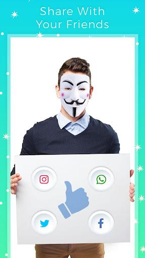 Anonymous Mask Photo Maker
