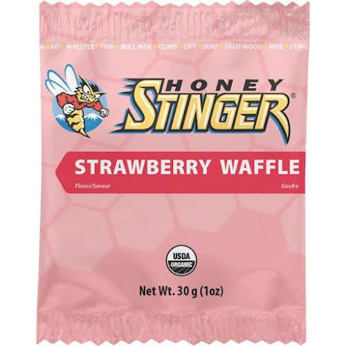 Honey Stinger Organic Stinger Waffle: Strawberry Box of 16