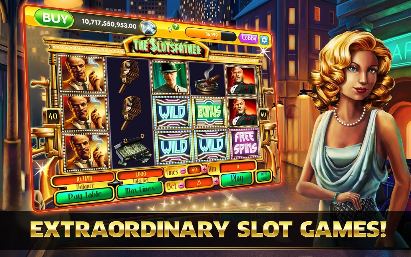 OMG! Fortune FREE Slots Casino - screenshot