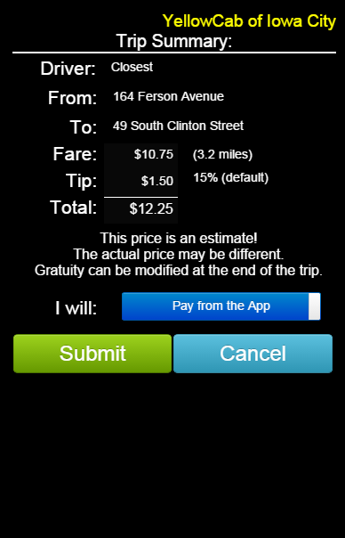 NexTaxi:  The Cab Grabber!- screenshot