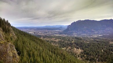 Photo: approaching the top of our hike @ Rattlesnake Mountain