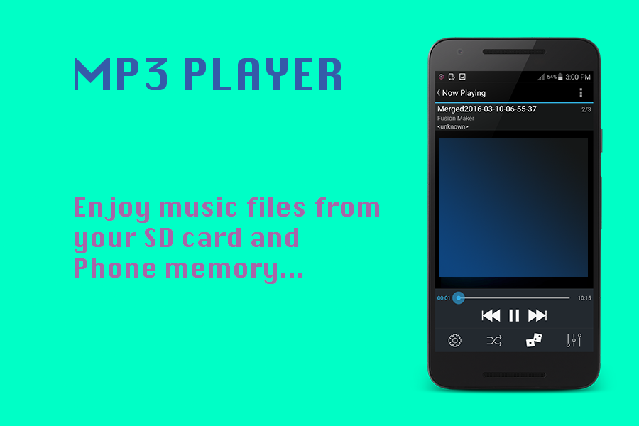 mp3 music download player- screenshot