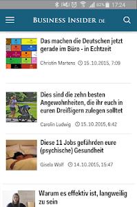 Business Insider DE screenshot 2