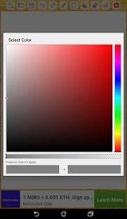 Paint Start App - náhled
