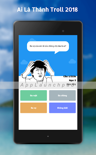 Ai la thanh troll 2018 - Hoi Ngu app (apk) free download for Android
