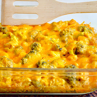 Curried Chicken Broccoli Casserole.