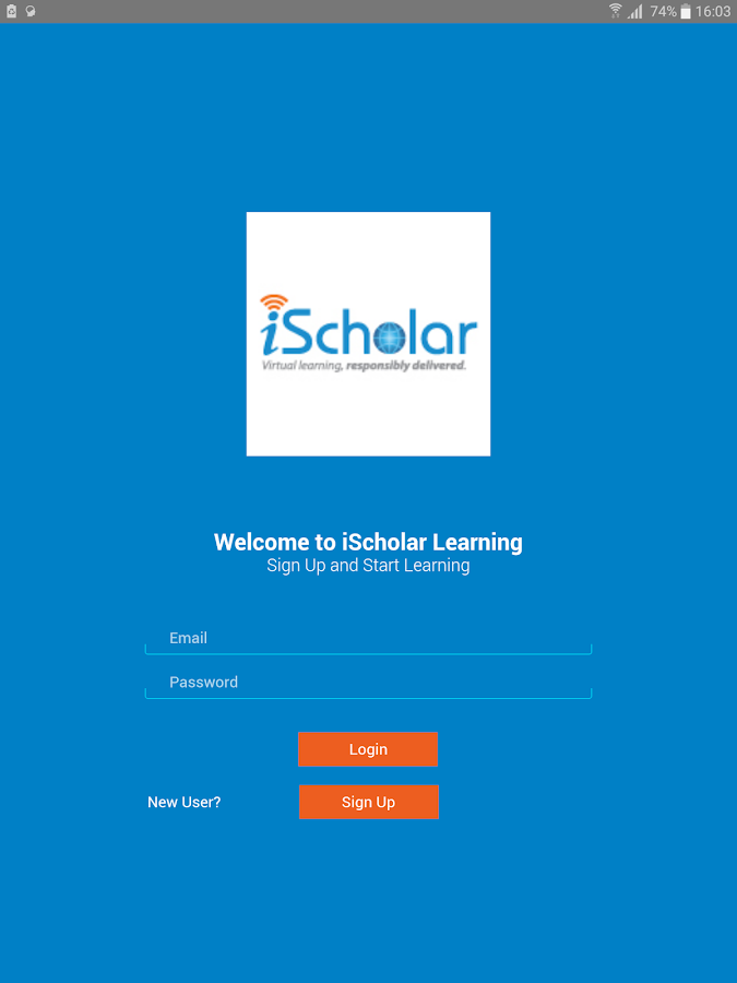 iScholar- Interactive Learning- screenshot