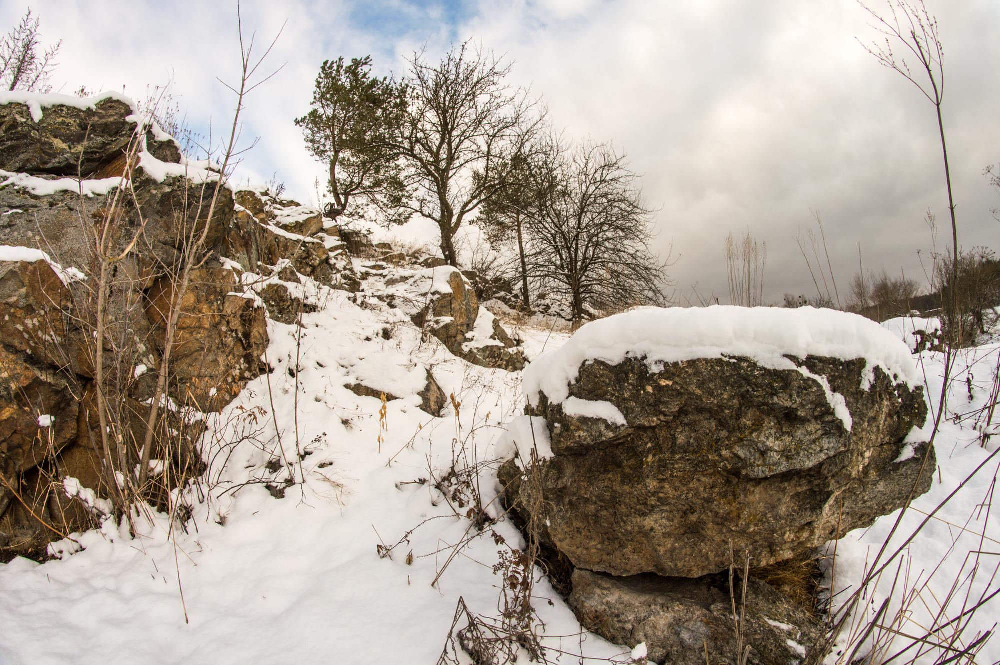 Скелясті береги Тетерва