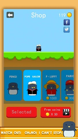android Penguin! Go Jump Screenshot 4