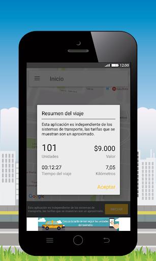 Taxi Fare GPS 3.4.3 screenshots 2