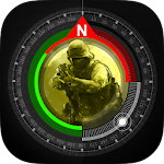 Compass GPS Pro  Military Compass with camera 1.6.2 (Ad-Free) Proper