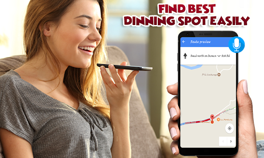 GPS Driving Route Tracking - Live Map Navigation - náhled