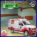 Multi Storey Ambulance Parking icon
