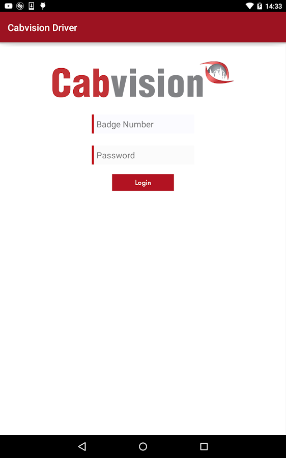 Cabvision Driver- screenshot