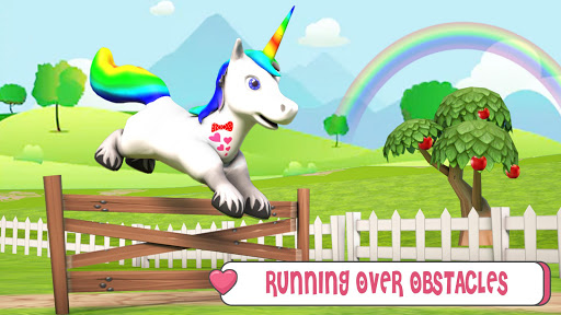 Baby Unicorn Horse Life : Pony Jungle Survival 1.0.5 screenshots 1
