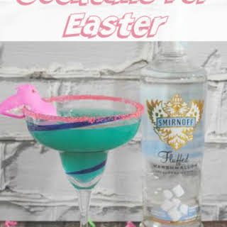 Cocktails for Easter- Peeps Cocktail.