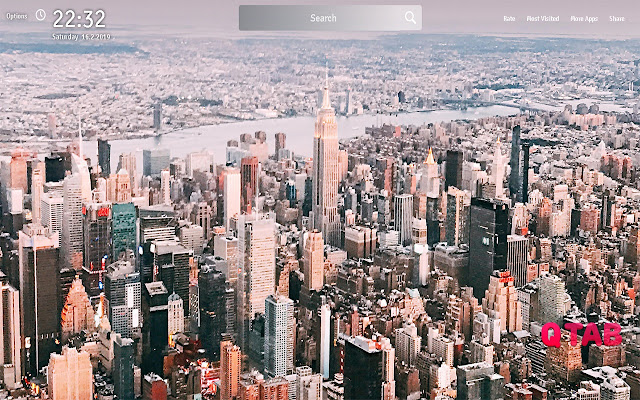 NYC Wallpapers Theme Cities New Tab