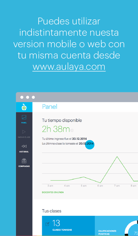 AulaYa- screenshot