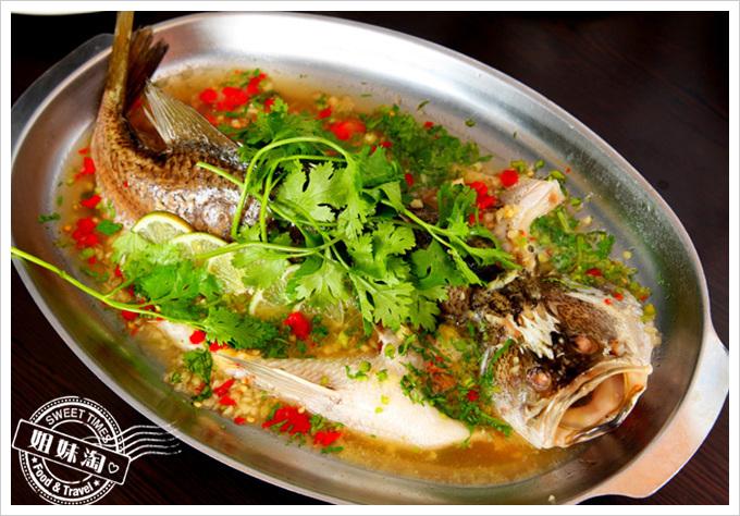 阿杜皇家泰式料理菜單清蒸檸檬魚