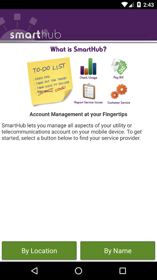 SmartHub- screenshot