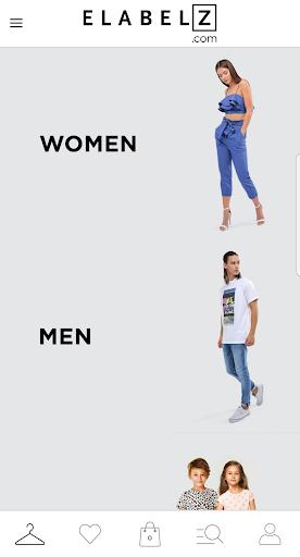 إي ليبلز لتسوق الأزياء - ELABELZ Fashion Shopping screenshot 1