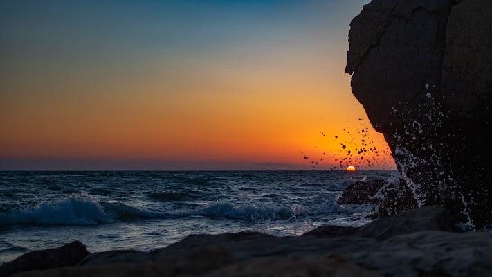 il tuffo del sole al tramonto di Gp76